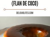 Coconut Cream Cheese Flan (Flan Coco)