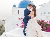 Gorgeous Intimate Wedding Santorini Macey Stephen