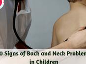 Signs Back Neck Problems Children
