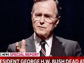 George H.W. Bush Died Houston.