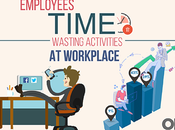 Employees Time Wasting Activities Workplace Infographic
