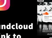 Share Soundcloud Music Links Instagram Stories