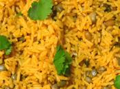 Arroz Gandules (Puerto Rican Rice with Pigeon Peas)