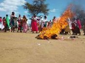 Wanavuta Bhangi Kupindukia! Samburu Residents Protest Over Violent Children Smoking Weed Terrorizing Them