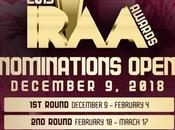 Public Voting Open 2019 IRAA Awards