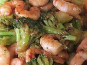 Shortcut Shrimp Teriyaki Broccoli