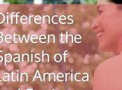 Latin American Spanish Spain Differences
