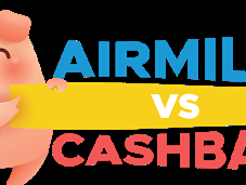 Cashback Airmiles, Which Better? Deal Year 2019