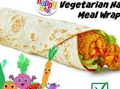 McDonald's First Vegetarian Happy Meal Wrap
