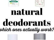 Natural Deodorants Review (Including Lume)