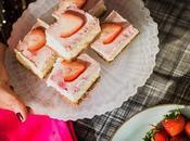 Low-calorie Strawberry Greek Yogurt Cheesecake Bars