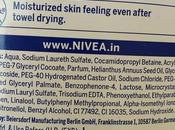 Nivea Water Lily Shower Review