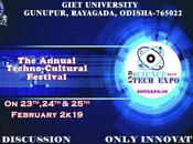GIET University Gunupur Science Tech Expo SNTEXPO 2019