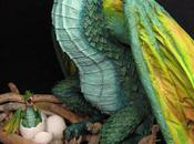 Paper Mache Dragon- Finished!