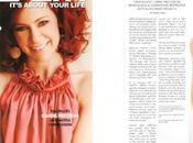 Carrie Preston Cover Health Magazine