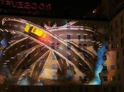 Lexus CT200h Projection Roosevelt Hotel