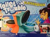 Hasbro Toilet Trouble Flushdown Game National Poop Crohn's Disease Awareness
