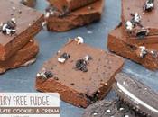 Chocolate Cookies Cream Dairy Free Fudge (Gluten Free)