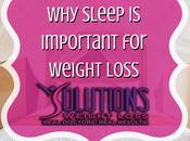 Sleep Important Weight Loss