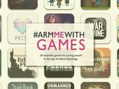 #ArmMeWithGames: Leading Game Designers Educators Come Together Recommend Empathy Games Young People Growing Shadow School Shootings
