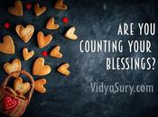 Counting Your Blessings?