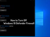 Turn Windows Defender Firewall 2019 (Two Ways)
