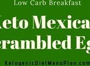 Keto Mexican Style Scrambled Eggs Recipe Carb Breakfast