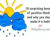 Surprising Benefits Positive Thinking