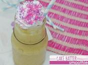 Dairy-Free Cake Batter Smoothie