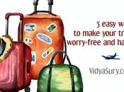 Easy Ways Make Your Travel Worry-free Happy