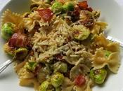 Pasta with Sprouts Bacon