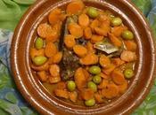 Tagine Viande Boeuf, Carottes Olives Vertes Beef with Carrots Green Carne Vacuna, Zanahorias Aceitunas Verde طاجين بلحم البقر الجزر والزيتون الأخضر