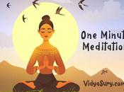 Minute Meditation #AtoZChallenge #Mindfulliving