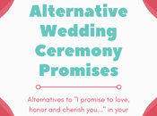 Alternative Wedding Ceremony Promises
