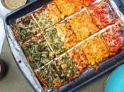 Healthy Homemade Rainbow Pizza