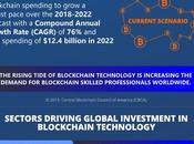 Blockchain Technology Investments Infographic