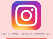 Complete List Banned Instagram #Hashtags 2019