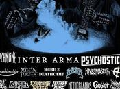 Fest 2019 West Mass. Aug. Sep. Featuring INTER ARMA, PSYCHOSTICK, BYZANTINE, MOON TOOTH Over MORE!