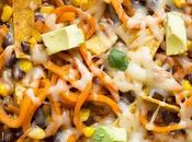 Enchilada Sweet Potato Noodles Skillet