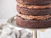Vegan Paleo Chocolate Cake with Ganache Frosting