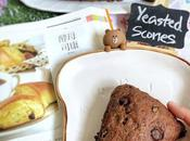Chocolate Yeasted Scones