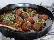 Mediterranean Meatballs with Gravy