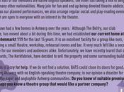 BATS (British American Theatrical Society) Looking Home Antwerp: Help?