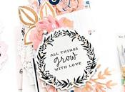 Maggie Holmes Design Team Grow With Love Mini Album