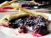 Easy Blackberry Galette