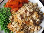 Garlic Cheddar Chicken Rice Bake