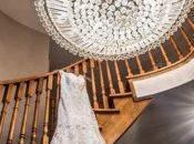 Pre-Wedding Shots: Hanging Wedding Dress