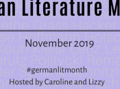 Announcing German Literature Month 2019