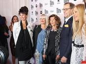 Marcel Ostertag Opens Vienna Fashion Week 2019. Austria's Chancellor Brigitte Bierlein Sits Front Row.