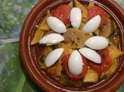 Tagine Rutabaga Poivrons Bell Peppers Nabo Pimientos /طاجين باللفت الاصفر الفلفل
